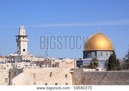 The Dome of the Rock , Al Aqsa, Jerusalem