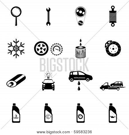 Mechanic Icons