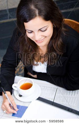 Empresária de reunião