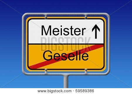 Geselle - Meister