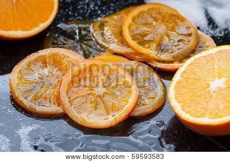 Caramelized Orange Slices