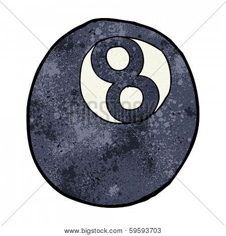 cartoon eight ball