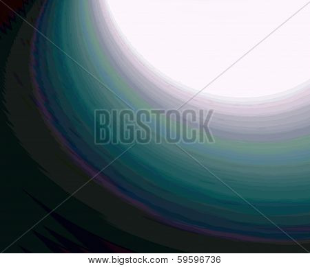 Abstract Colorful Arc Background
