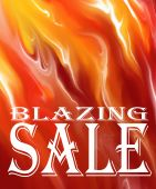 Blazin Sale Background -- add your own markdown
