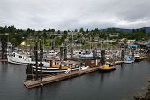 Gibsons Harbor Marina, British Columbia