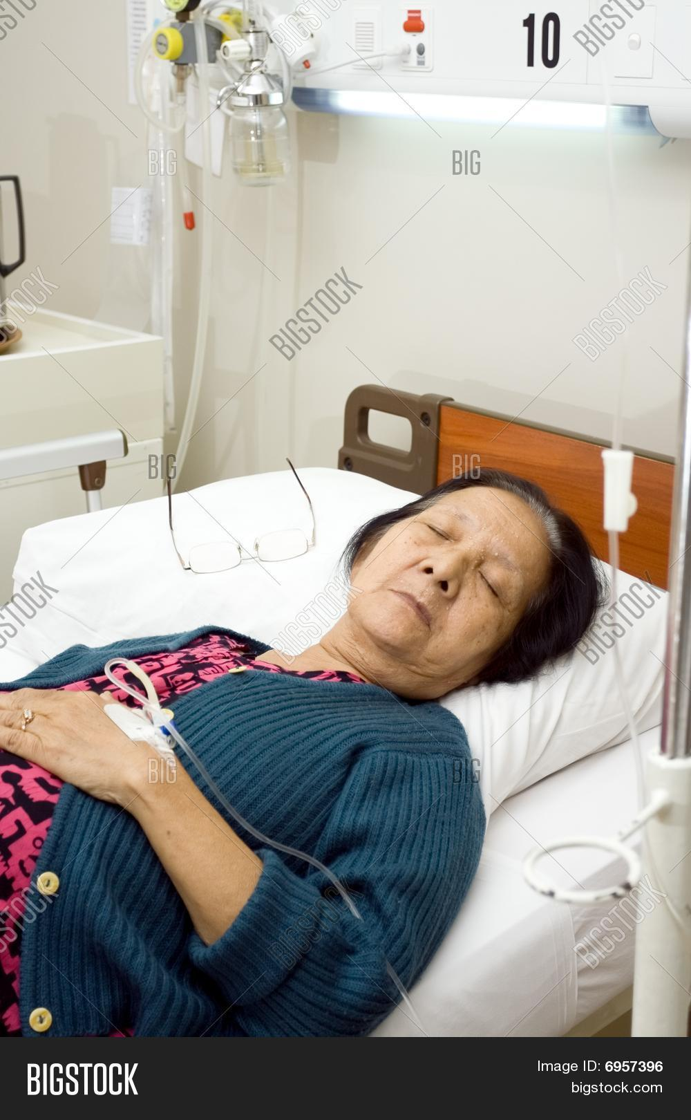 sick woman in hospital bed wwwpixsharkcom images