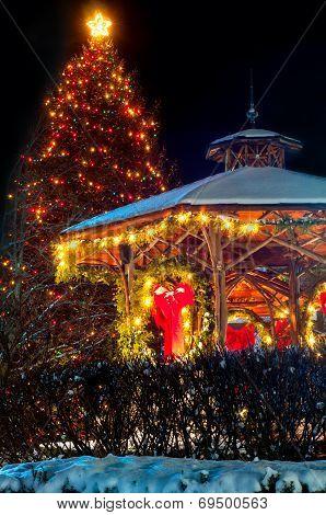 Christmas Tree & Gazebo