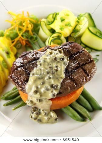 Steak And Sweet Potato