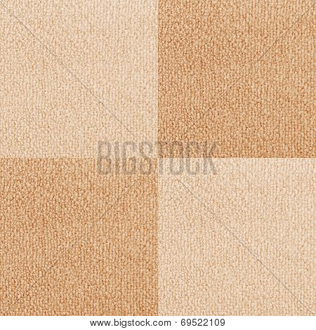 New Beige Checkered Carpet Texture