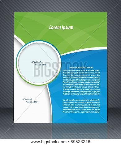 Business Brochure, Magazine Cover, Flyer, Or Poster