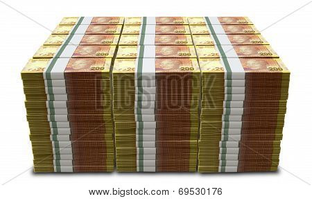 Rand Notes Pile