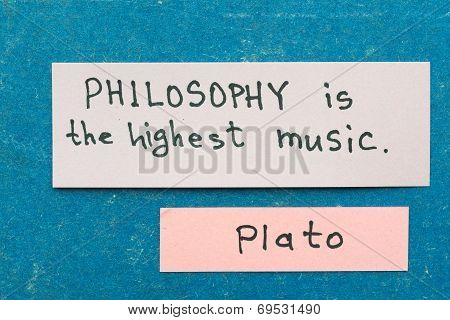 Philosophy Is