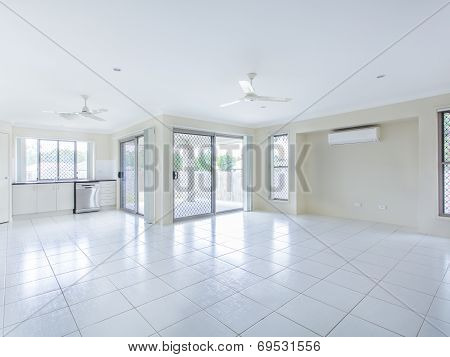 Empty Living Room