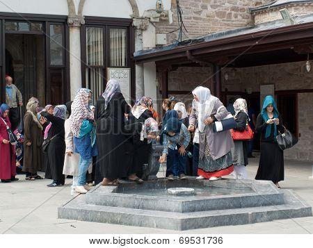Mevlana museum mosque in Konya