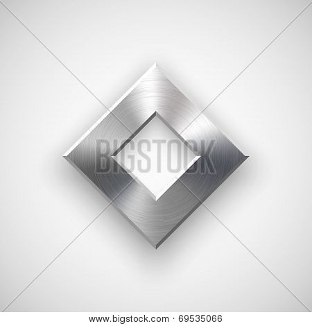 Abstract Rhombic Button Template