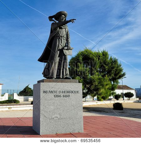 Monument  Henry The Navigator, Sagres, Portugal