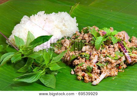 Spicy Minced Pork 2
