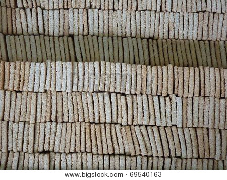 Traditional Dry Manioc Biscuits
