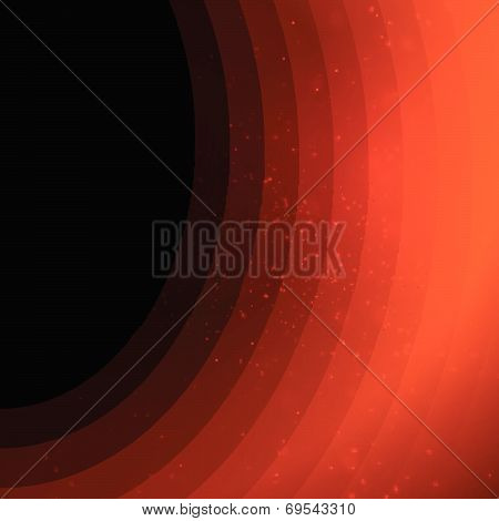 Dark orange background