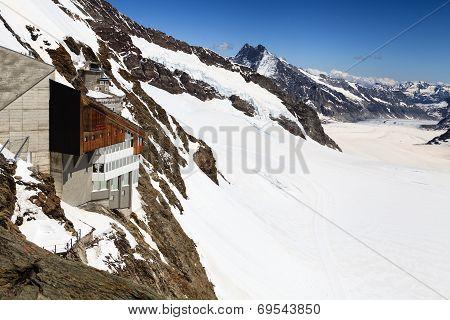 Jungfraujoch, Swiss Alps Jungfraujoch Railway Station