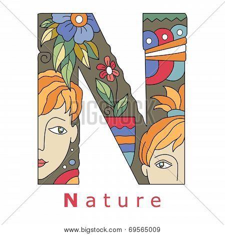 Letter N - Nature