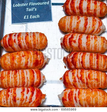 Lobster Flavoured Tail Delicacy In British Market