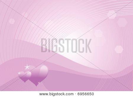 Violet-hearts