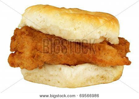 Fried Chicken Breast Fillet Biscuit