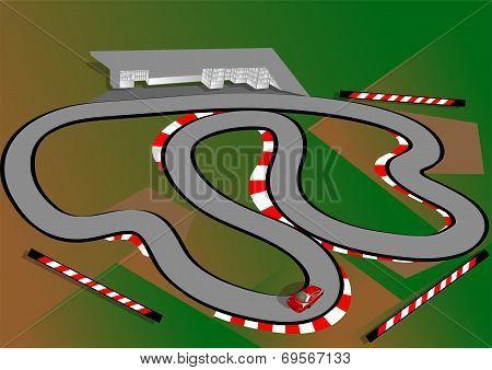 Car Test Track