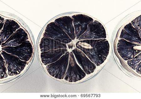 Group Of Dried Lemons