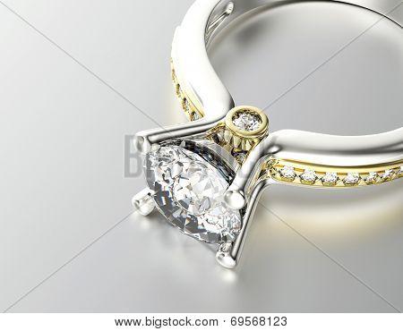 Wedding Rings. Jewelry background