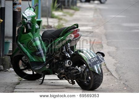 Yamaha Mio Soul GT modification