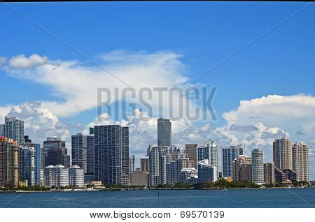 Miami Condominium Skyline