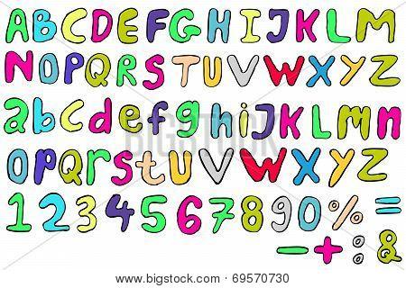 Doodle Font - Childish