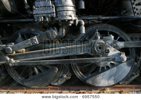 Steam Locomotive Shot