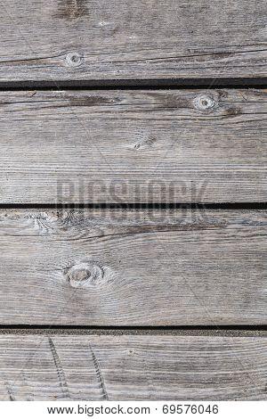 Wooden Horisontal Planks