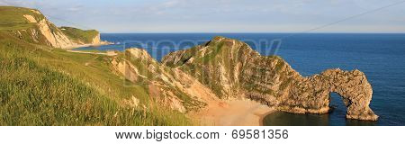 Archway Durdle Door - British Unesco Heritage, Panorama