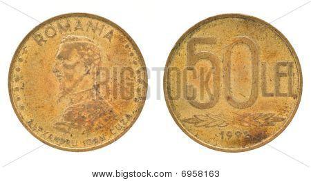 50 Leu - Romanian Money