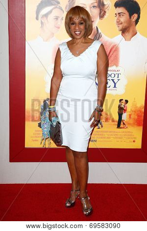 NEW YORK-AUG 4: TV host Gayle King attends