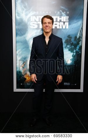 NEW YORK-AUG 4: Director Steven Quale attends the
