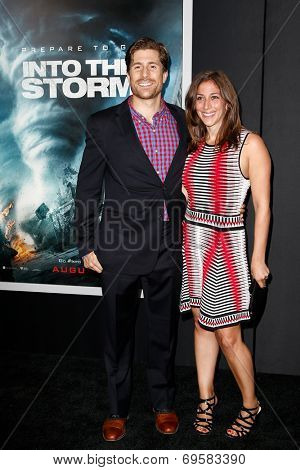NEW YORK-AUG 4: Actor Adam Shuty and guest attend the