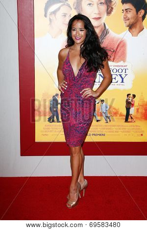 NEW YORK-AUG 4: Actress Courtney Reed attends