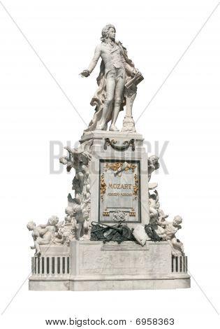 Estatua de Mozart en Viena