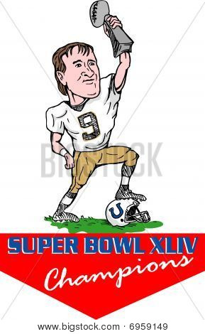 New Orleans Saints quarterback super bowl champion