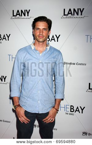 LOS ANGELES - AUG 4:  Scott Bailey at the