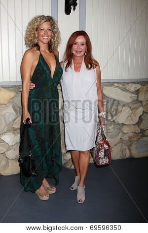 LOS ANGELES - AUG 2:  Laura Wright, Jackie Zeman at the