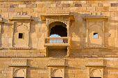 stock photo of jainism  - Palace of the Maharajah in Jaisalmer the magnificent  - JPG