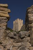 image of templar  - Castle Templar origin located in Alcal� de Xivert in 