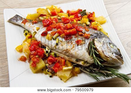baked fish