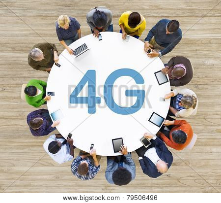 Communication Connection Internet Speed Mobility Cellular Concept